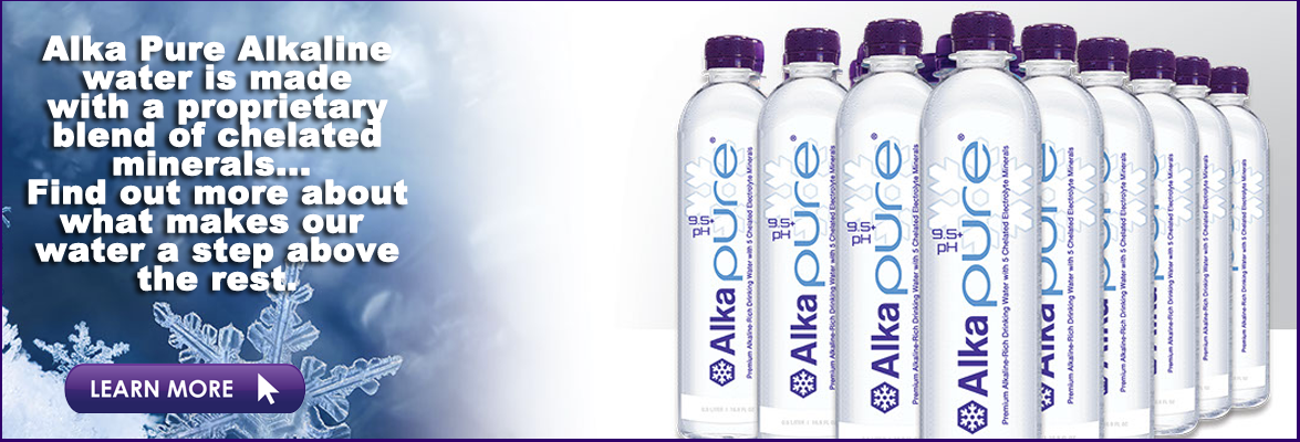 Bottled Alkaline Drinking Water