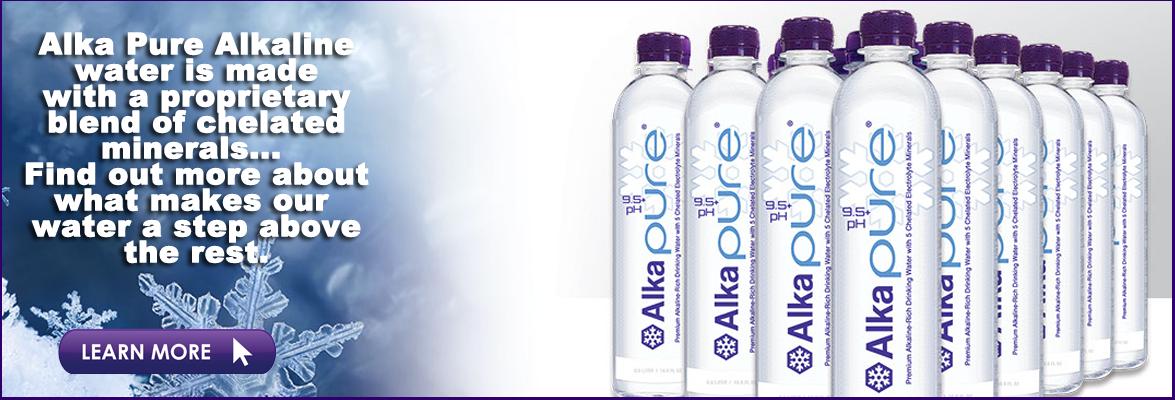 Bottled Alkaline Drinking Water