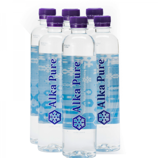 Alka-Pure Bottled Water 6-Pack - $14.99