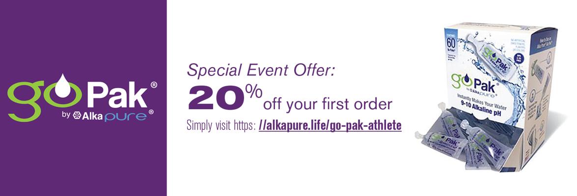 Go Pak Save 20% Special Offer